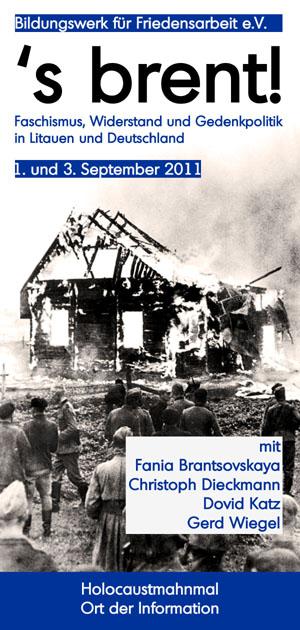 's brent! - Faschismus, Widerstand und Gedenkpolitik in Litauen und Deutschland