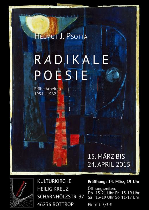 H.J. Psotta: Radikale Poesie